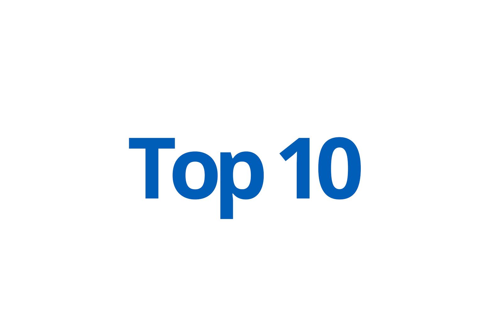 Top 10 (Wikkelfolie)