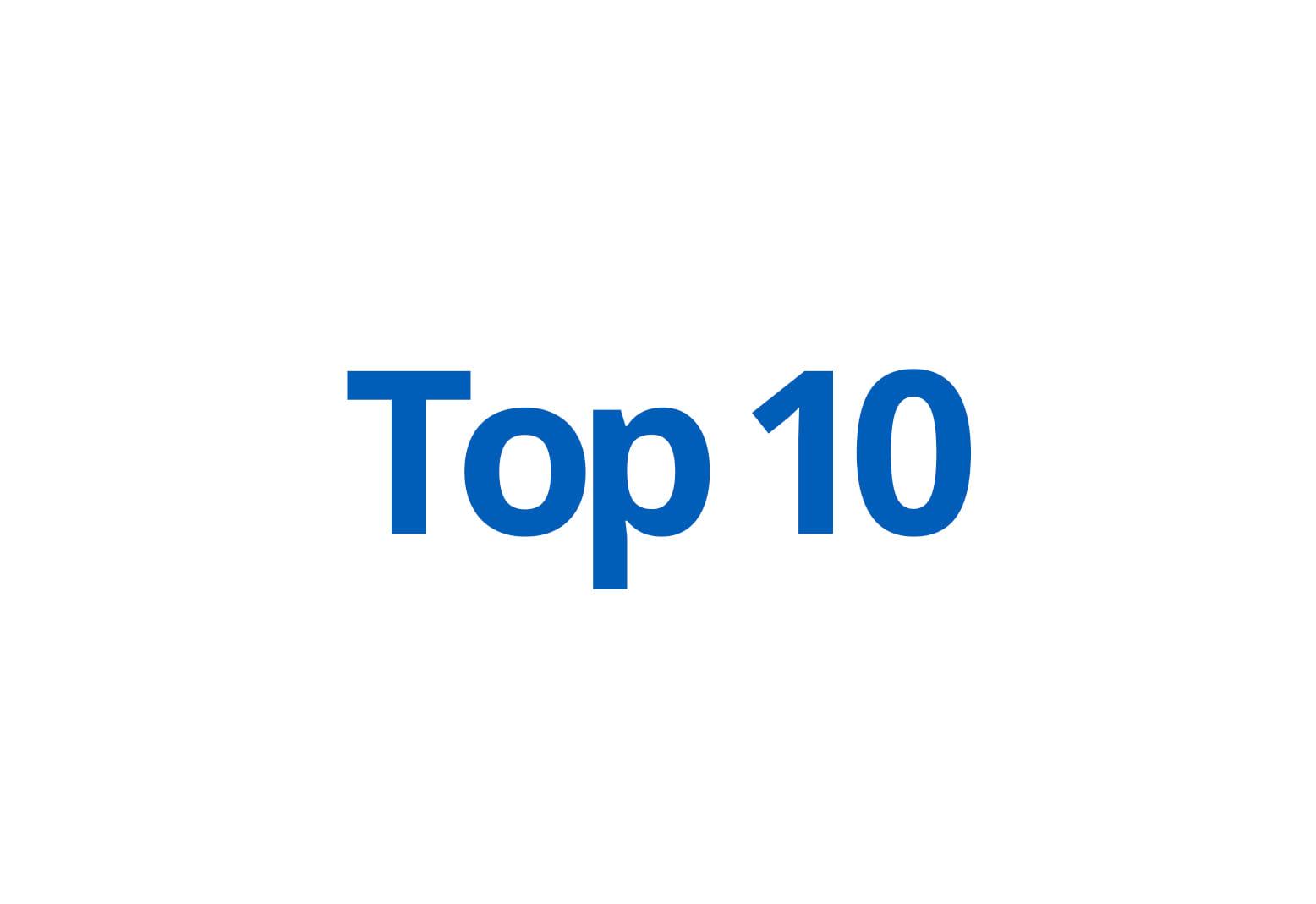 Top 10 (Hygiëne)