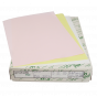 Giroform A4 Laserpapier 86 gr/m2 zelfdoorschijvend WIT/GEEL/ROSE