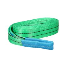 Hijsband 2 ton met certificaat - Groen