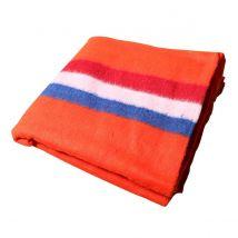 Verhuisdeken oranje, rood-wit-blauw 150 x 200 cm
