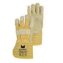 Werkhandschoen Mattral Rundnerfleder met kap en palmversterking maat 10
