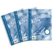 Collegeblok Work - A4 - Gelinieerd - 80 vel - 70 grams