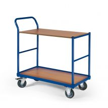 Tafelwagen 250 kg 1000 x 600 mm - 2 laadvlakken