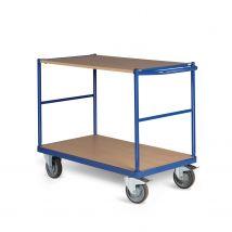 Tafelwagen 350 kg 850 x 500 mm - 2 laadvlakken