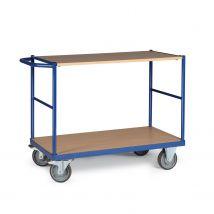Tafelwagen 350 kg 1000 x 700 mm - 2 laadvlakken