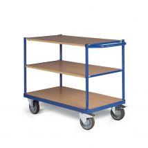 Tafelwagen 350 kg 850 x 500 mm - 3 laadvlakken