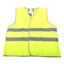 Veiligheidsvest M-Wear 0165 maat XL/XXL | Verkeersvest  fluor geel voorkant