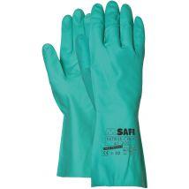 Werkhandschoen M-Safe First Choice nitril maat 7-11