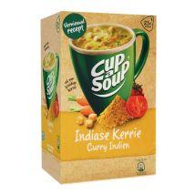 Cup-a-Soup Indiase Kerrie met croutons - Pak van 21 zakjes