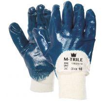 Werkhandschoen M-Safe NBR M-Trile 50-010 maat L en XL
