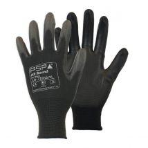 Werkhandschoen PSP 10-710 Allround PU zwart - maat naar keuze
