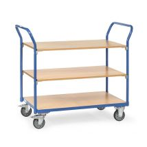 Tafelwagen 200 kg. 850x500 mm. 3 etages