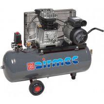 Mobiele Compressor Airmec KF 100350 M Oliegesmeerde Zuigercompressor