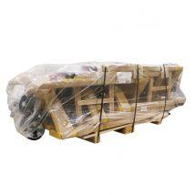 Handpalletwagen Mattral 2500 kg 1150 mm - Rubber/PU dubbel wielen- ongemonteerd geleverd