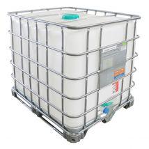 IBC Container A-keus Gereinigd 1.000 liter - Stalen Onderstel