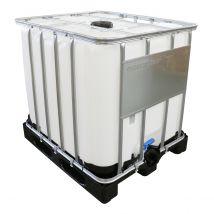 IBC Container Nieuw 1.000 liter Werit TOPline - Kunststof Onderstel