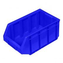 Magazijnbak stapelbaar 12 liter blauw