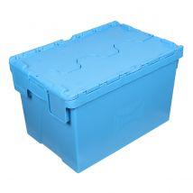 Distributiebak Blauw 600 x 400 x 365 mm