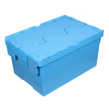 Distributiebak Blauw 600 x 400 x 310 mm