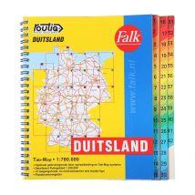 Wegenkaart Duitsland Routiq Tab map