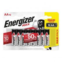 Energizer Batterijen Max AA - Blister van 12 stuks