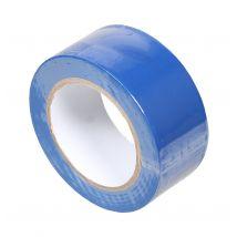 Vloermarkeringstape 50 mm x 33 meter blauw zijkant
