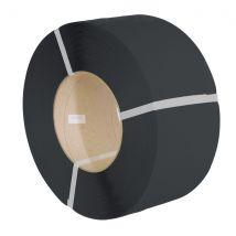 PP omsnoeringsband zwart 12mm x 0,63mm 3000 meter K200