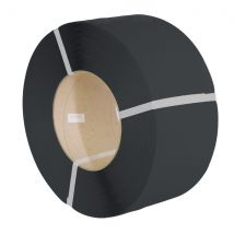 PP omsnoeringsband zwart 12,7 mm x 0,85mm 1800 meter K406