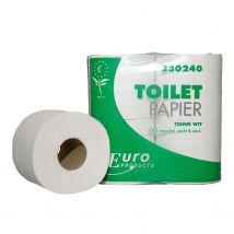 Toiletpapier Euro tissue wit