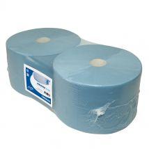 Euro Industrierol blauw cellulose verlijmd 240 mm x 380 m