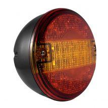Achterlicht Tralert LED 3-kamer 12-24 volt