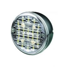 Achteruitrijlamp wit LED rond 24V Britax