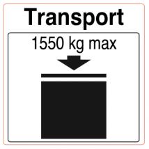 IBC etiket 1550