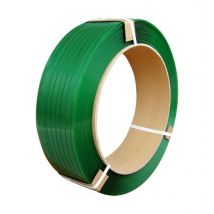 PET band groen 19 x 0,80 mm K406, 1000 meter op rol