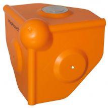 MagProtect oranje hoekbeschermer, schroefgat en magneet 65 kg.