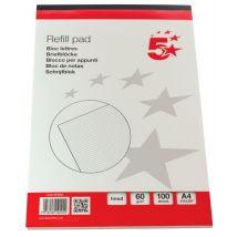 5 Star schrijfblok - A4 - Gelijnd - 100 vel