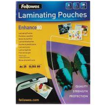 Fellowes Lamineerhoes Enhance A4 - 160 micron (2x80 micron) - 25 stuks