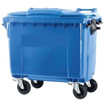 Afvalcontainer 770 liter blauw