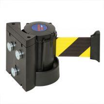 Wandriem geel/zwart magnetisch 3000 mm