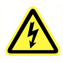 Elektriciteits spanning kunststof plaat 200 mm