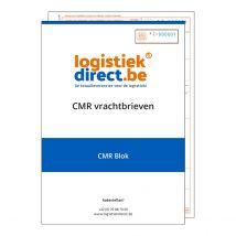 CMR blokken 4-voud 25 CMR's/blok - 1 dekblad 80 g/m²