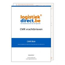CMR blokken 4-voud 25 CMR's/blok - 1 antidoorschrijfblad