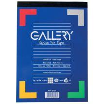 Schrijfblok Gallery A5 geruit 100 vel 70 grams