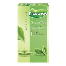 Pickwick thee, Groene thee Pure, pak van 25 zakjes van 1,5 gram