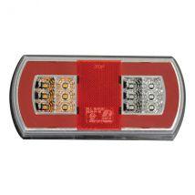 Achterlicht LED Links 5 functies 165 x 80 mm