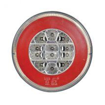 Achterlicht LED-verlichting 3 functies 140 mm