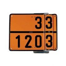 ADR bord 400 x 300 mm - Code 30 1202 & 33 1203