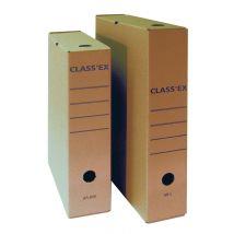 Class'ex archiefdoos Bruin golfkarton - A4 - 34,5 x 25,1 cm - 50 stuks