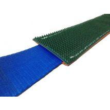 Beschermhoes groen/oranje met antislipprofiel